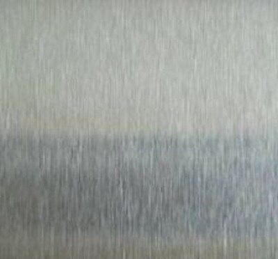 Alloy 430 Brushed Stainless Steel Sheet Wpvc - 24g X 24 X 48 5pc Lot