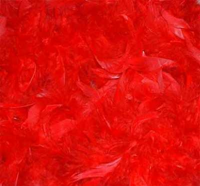Feather Boa Red 60 Grams 72 Inches Bnew  ()