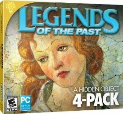 Computer Games - Legends Of The Past 4-Pack PC Games Windows 10 8 7 XP Computer hidden object