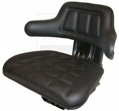 Universal Tractor Seat Black For Allis Chalmers White Oliver Mm Metal Base