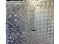 Aluminium Chequer Plate 1m x 1m x 3mm