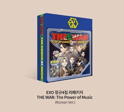 EXO The War The Power of Music Korean KIHNO SMART MUSIC ALBUM LIMITED EDITION