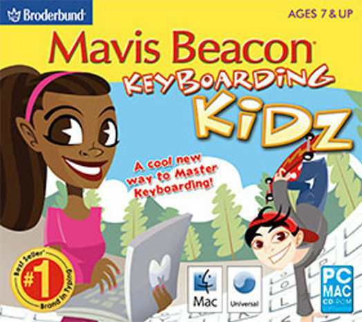 Mavis Beacon Keyboarding Kidz  Win XP Vista 7 8 10  Typing for Kids  NEW