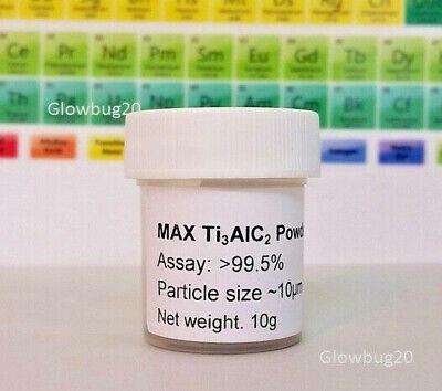 Max Phase Titanium Aluminum Carbide Max Ti3alc2 Graphitic Mxene Ceramics