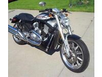 Harley Davidson VRSCR STREET ROD never used 3371 miles on clock been in storage