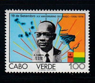 CAPE VERDE Amilcar Cabral, Founder of PAIGC MNH stamp