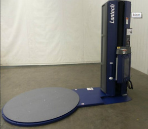 Used Lantech Q300 Stretch Wrapper, Pallet Wrapper, Skid Wrapper