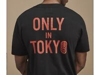 Footpatrol X Beams X Saucony Tee Black 'Only In Tokyo' Extra Large Brand New