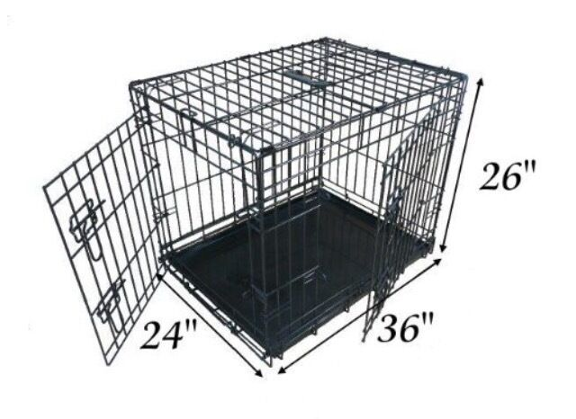 "EllieBo Dog Crate (36"")"