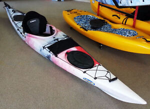 Brand new kayaks for fishing with paddle - free delivery