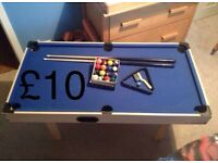 Pool table and accessories (REDUCED)