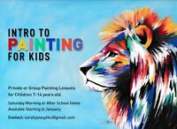 6 Week Introduction to Painting (for Kids!)