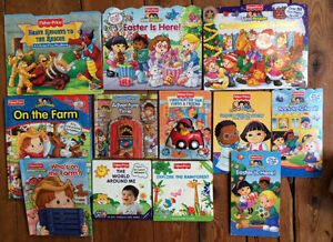 Fisher Price LITTLE PEOPLE Board Books $3 each or all 12 for $30
