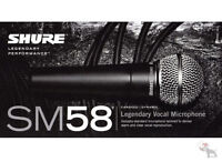 SHURE SM58 ON SALE AT INTERNATIONAL MUSICLAND