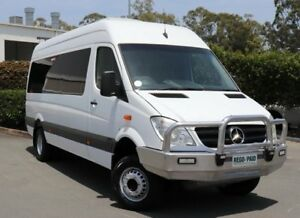 2011 Mercedes-Benz Sprinter 906 MY11 519 CDI LWB (4x4) White 5 Speed Automatic Van