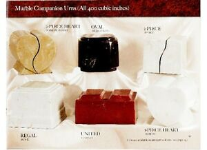 WERE THE LEADING CANADIAN SUPPLIER OF COMPANION CREMATION URNS Moose Jaw Regina Area image 2