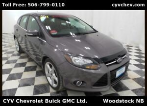 2012 Ford Focus Titanium Hatchback - Heated Leather & Sunroof