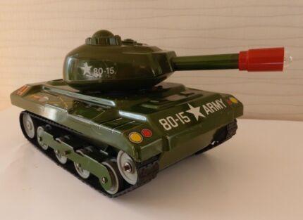 Vintage Stick Shift  US Army Tank