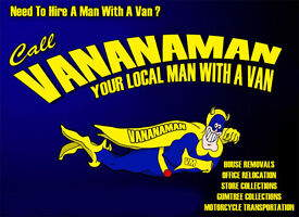 MAN AND VAN REMOVAL SERVICE single items to full house moves MOTORCYCLE collection delivery