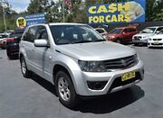 2012 Suzuki Grand Vitara JB MY13 Urban Silver Manual Wagon Campbelltown Campbelltown Area Preview