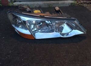 (B) 2003 Acura TL passenger side headlight very clean