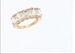 10K Yellow Gold Mother's Ring