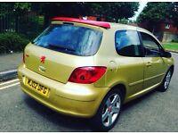 307 12Month Mot 1,0 litre 12Month tax LED light low mileage