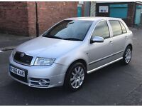 56 REG SKODA FABIA VRS 1.9 TDI PD 6 SPEED PX OR SWAP