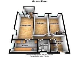 2bedroom flat becton place 5thfloor