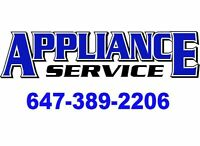 APPLIANCE SERVICE - FRIDGE WASHER DRYER DISHWASHER RANGE