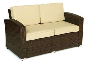 Bahia PATIO 2 SEATER COUCH WITH TABLE