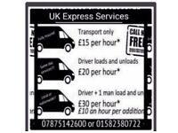 Uk express services £15ph Man with Van/Man and van HOME house/Business Removal/Removal company