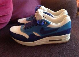 Nike air max blue white size 6.5 eu40