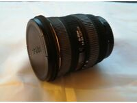 Sigma 10-20mm f4-5.6 Lens (Canon fit)