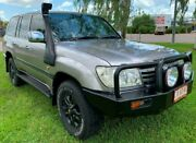 2006 Toyota Landcruiser HDJ100R GXL Grey 5 Speed Automatic Wagon Berrimah Darwin City Preview