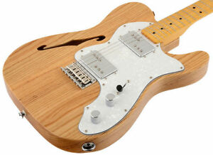 Squier Vintage Modified 72 Telecaster Thinline Electric Guitar