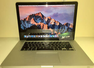 Apple Macbook 15'' Pro Unibody Mid-2010 Warranty 90 days