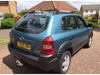 Hyundai Tuscan 2ltr crtd gsi 4wd 05reg very clean throughout