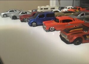 20 normal cars and 3 vintage cars