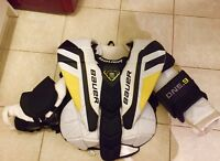 Hockey goalie chest and arm protector  Bauer supreme ONE.9