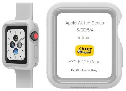 OtterBox EXO EDGE Case for Apple Watch Series 6/SE/5/4 (40mm) Pacific Gloom Grey