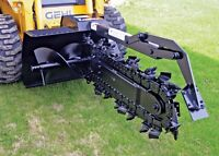 Skid steer services! Trenching/ levelling/ Anything!