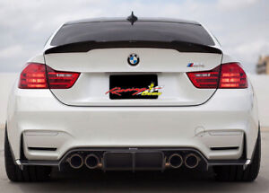 2014-2017 BMW 4 Series F32 M4 Style Painted ABS Trunk Spoiler