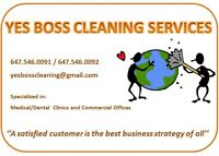 YES BOSS CLEANING SERVICES
