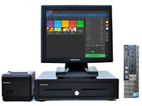 """Full 17"""" Touchscreen EPOS POS Cash Register Till System (Retail and Hospitality)"""