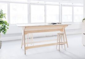 OpenDesk Breakout Standing Office Studio Desk - £1300 new