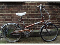 Vintage shopper not folding bike BSA need some TLC - easy to finish DIY project