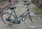 Omabike ladies dutch bike GAZELLE, size 20in, drum brake, new rear wheel,mint condition, serviced