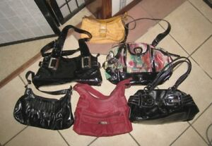 New or Like New 6 Women's Bags Purses, $15 FOR EACH BAG