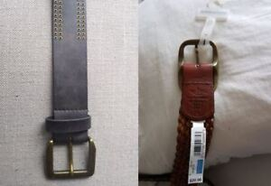 2 women's belts for $7 - Dockers and Perry Ellis. NEW